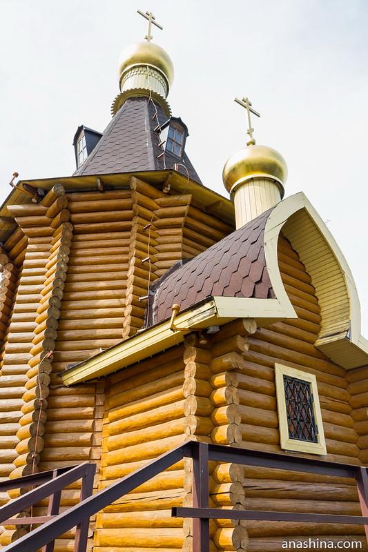 Часовня апостола Андрея Первозванного на Вуоксе