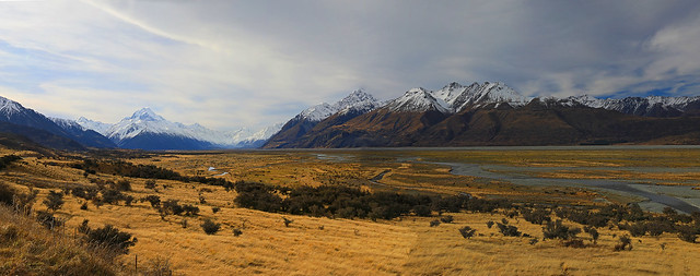 Mt. Cook Pano