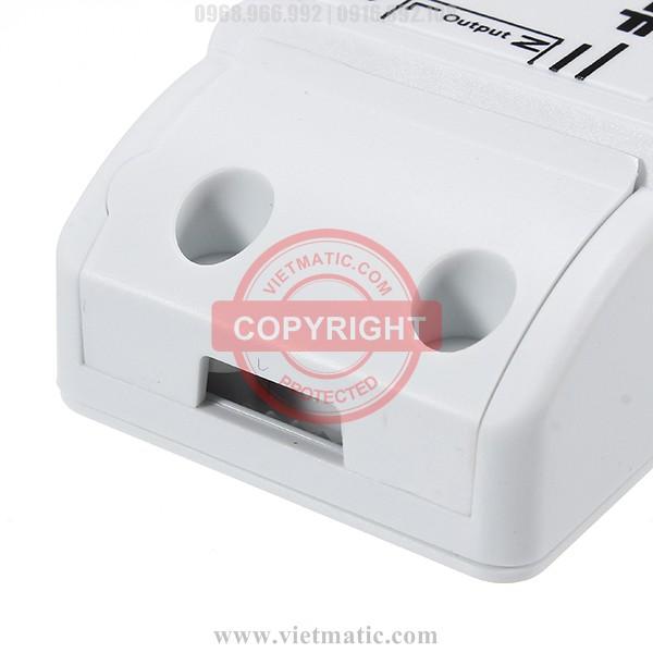 Ngõ ra (Output) kết nối với thiết bị tiêu thụ điện