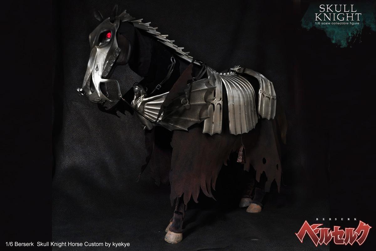 1/6 scale horse armor custom for Skull knight from [Berserk] 43767865904_6fd597bd3b_o