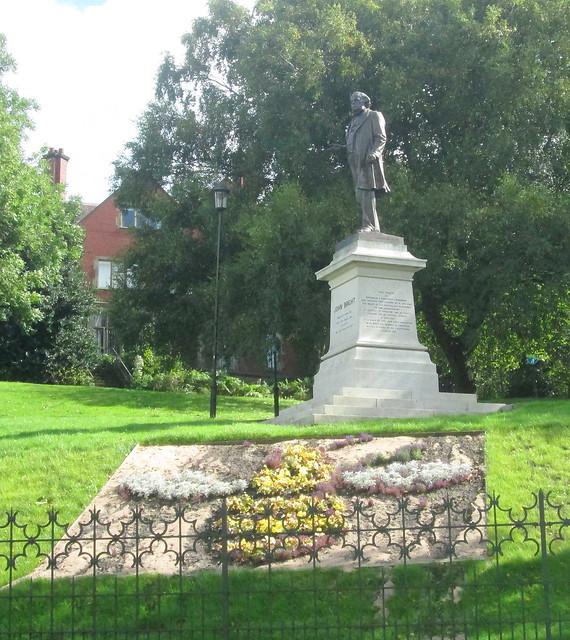 Statue of John Bright, Rochdale