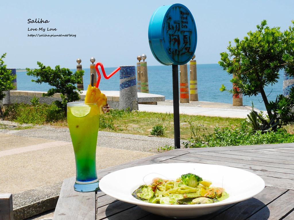 新北三芝淺水灣留夏下午茶咖啡義大利麵餐點心得推薦 (3)