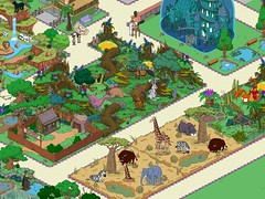 Second half area of Zoo event