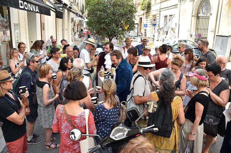 La cie et le public d'Avignon