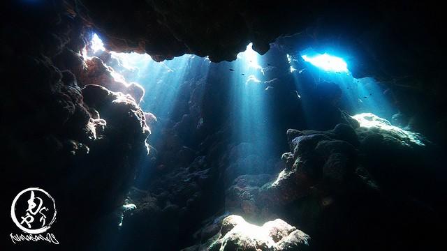 リクエストの洞窟、めちゃキレイ♪