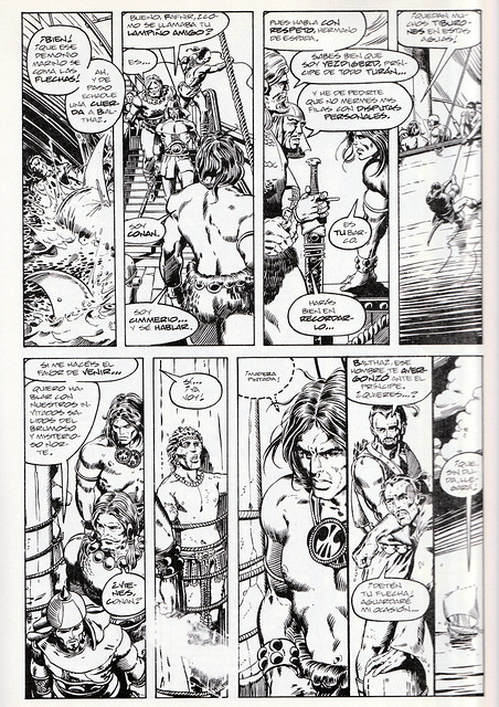 Conan de Roy Thomas y Barry Windsor Smith 06 -02- Halcones del Mar 01