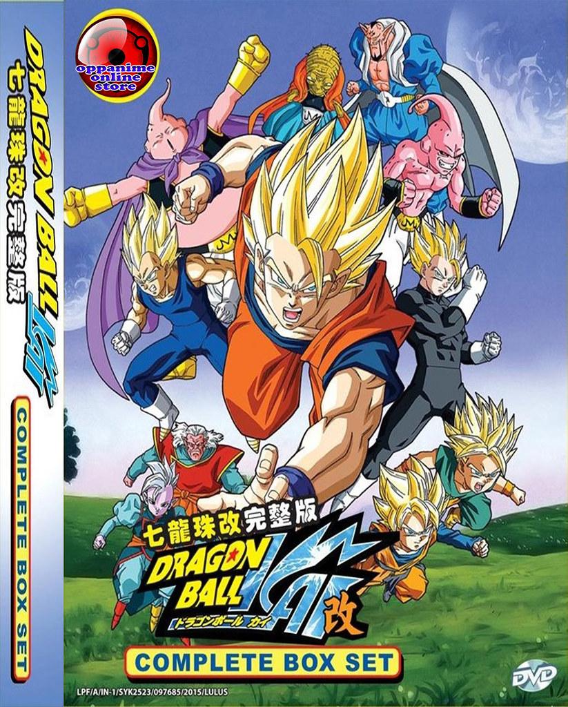 Dragon Ball Kai Vol.1-167 End English Dubbed Anime DVD Box Set