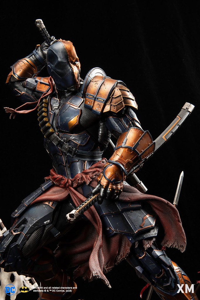XM Studios DC Premium Collectibles Deathstroke-Samurai Series 1/4th Scale Statue Announced!