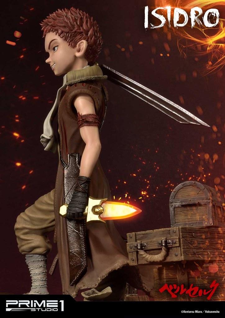 目標是要成為「最強的劍士」!!Prime 1 Studio《烙印勇士》伊西特羅 イシドロ / Isidro 1/4 比例全身雕像 UPMBR-13 普通版 / EX版