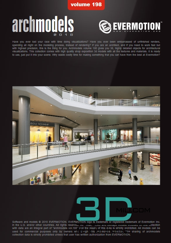 Evermotion Archmodels Vol 198: Shop expositions - 3D Mili