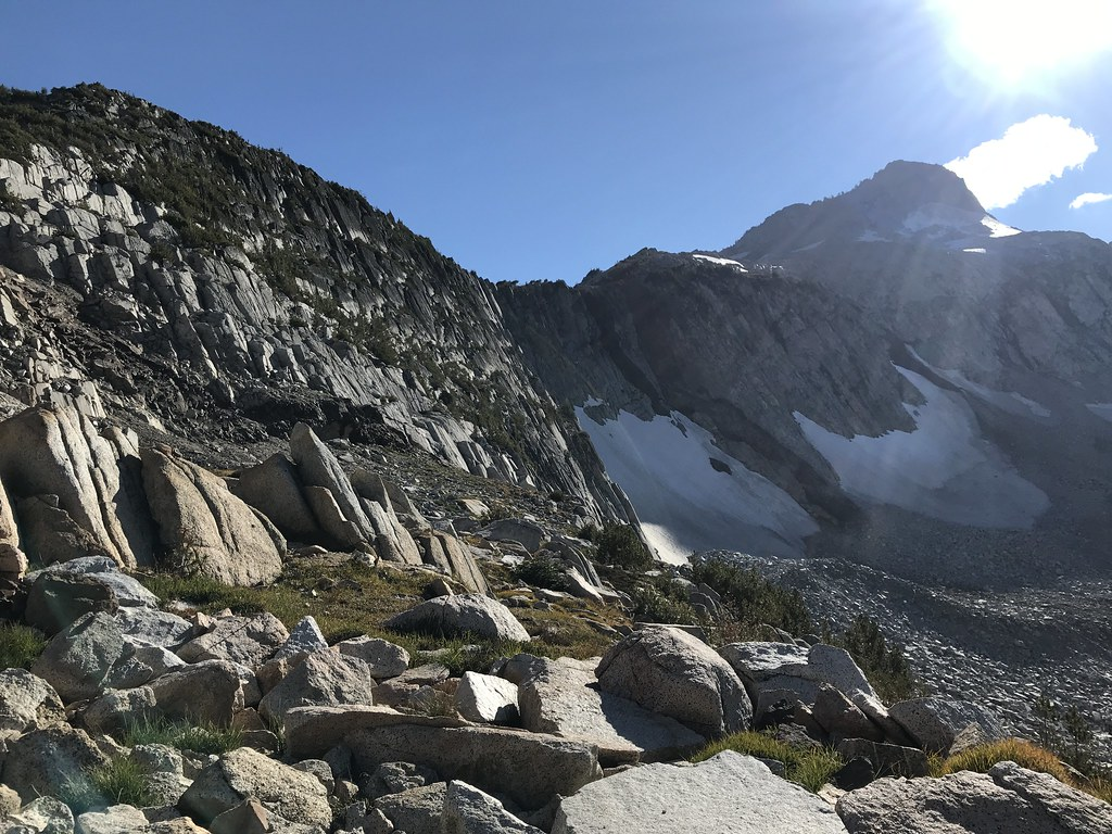 Glacier peak slabs