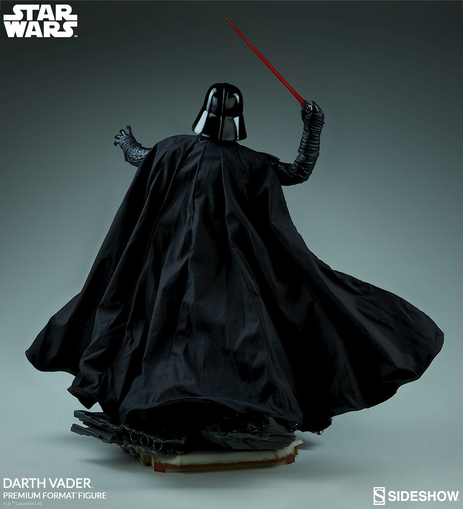 令人絕望的黑色身影來襲!! Sideshow Collectibles Premium Format Figure 系列《星際大戰外傳:俠盜一號》達斯·維德 Darth Vader 1/4 比例全身雕像作品