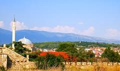Aerial view from Skopje Fortress/Skopsko Kale