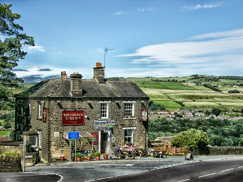 Roadside pub. From 5 Unique Ways to Road Trip Around the UK