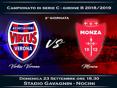 Virtus Verona - Monza 0-2