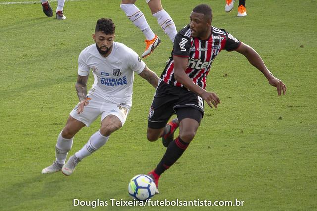 Santos 0 x 0 São Paulo