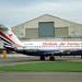 G-OCNW BAC One-Eleven 201AC British Air Ferries