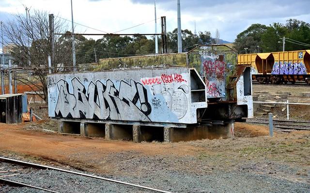 Ex NSWGR steam locomotive, Nikon D700, AF Zoom-Nikkor 24-85mm f/2.8-4D IF
