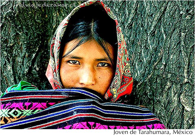 Mujer tarahumara