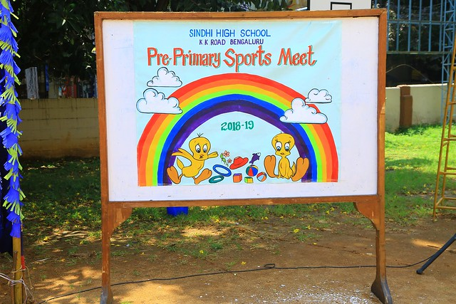 PRE-PRIMARY ANNUAL SPORTS MEET SEPT 2018