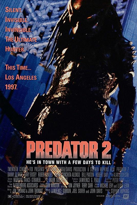 Predator 2 - Poster 1