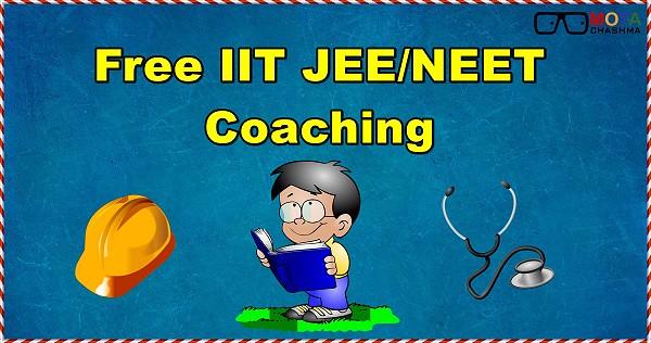 free iit jee neet coaching