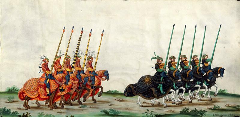 Triunfo del Emperador Maximiliano I, Rey de Hungría, Dalmacia y Croacia, Archiduque de Austria, XVI-XVII, f. 23, Biblioteca Nacional de España
