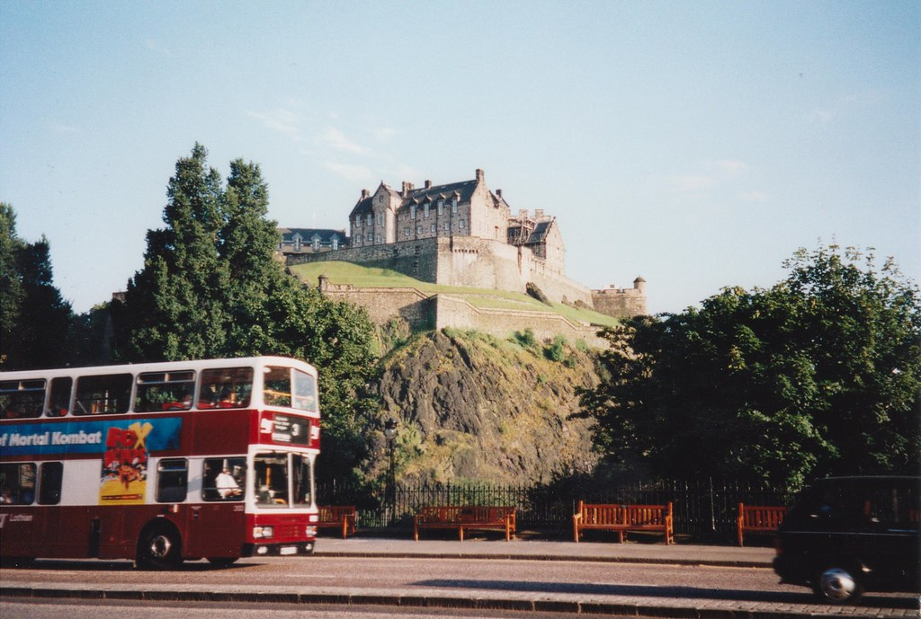 Edinburgh Castle, 7/9/1998