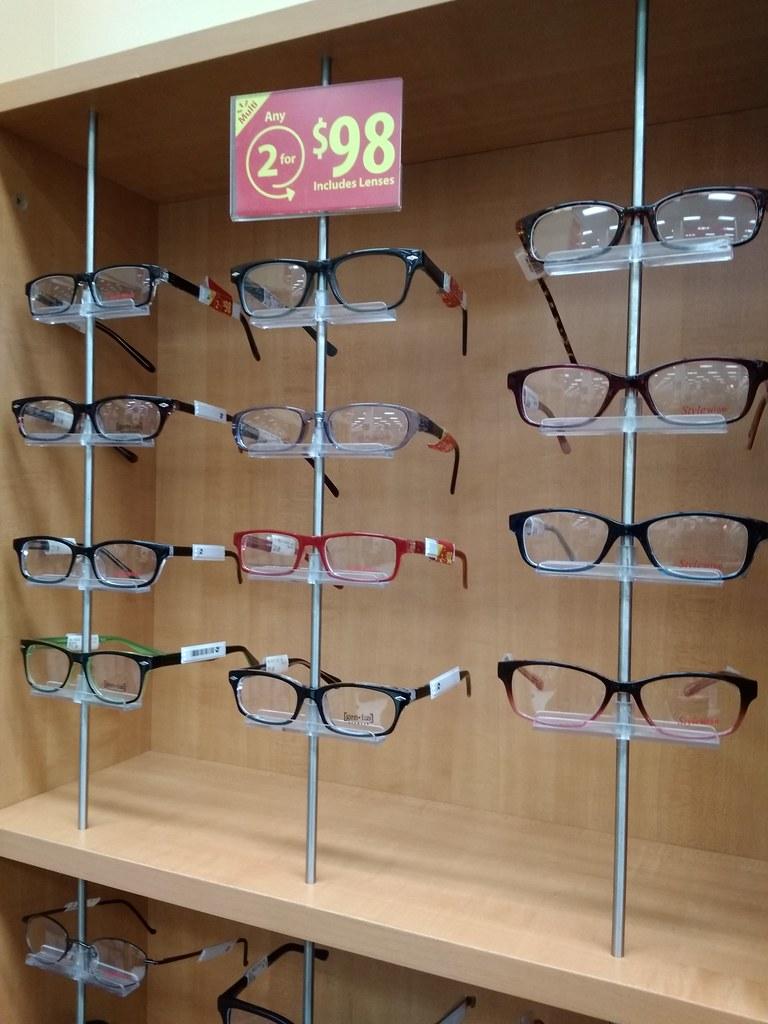 眼镜(镜框+镜片)2副98加元