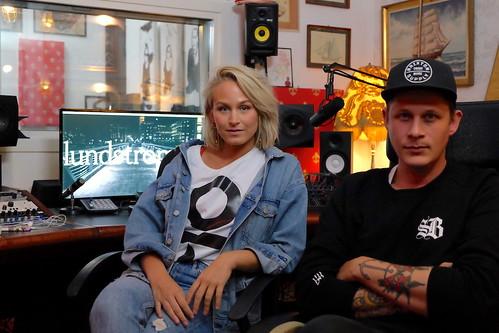 Eleonor Eriksson och Kenny Lundström alias Eleonor Léone och KNY