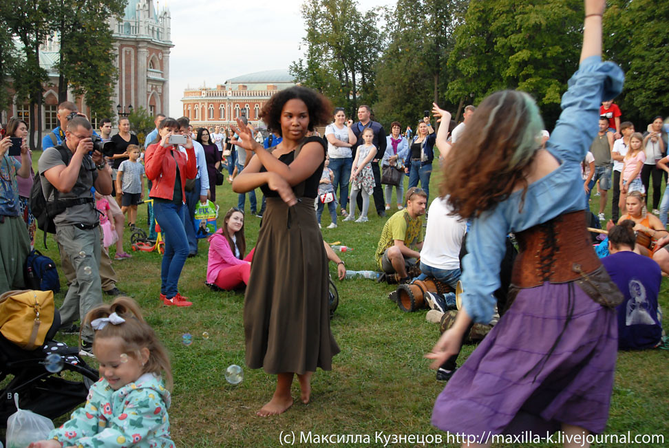 Танцы в Царицыно