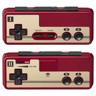 超懷念的紅白機造型!Nintendo Switch 紅白機控制器(ファミリーコンピュータ コントローラー) 【NSO限定】