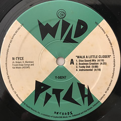 N-TYCE:WALK A LITTLE CLOSER(LABEL SIDE-A)