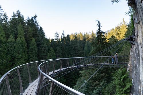 Cliffwalk at Capilano Suspension Bridge Vancouver