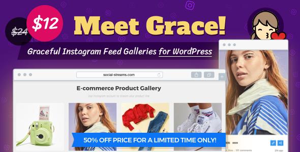Grace v1.1.5 – Instagram Feed Gallery WordPress Plugin