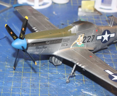 N.A. P-51D Mustang, Airfix 1/48 - Sida 4 42374092810_d035e3678a