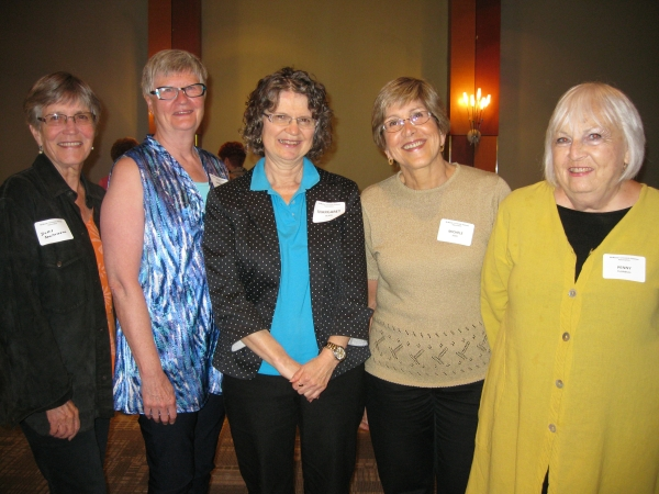 Doris Southwell, Barb Carpio?, Margaret Black, Michele Joch, Penny Turnbull