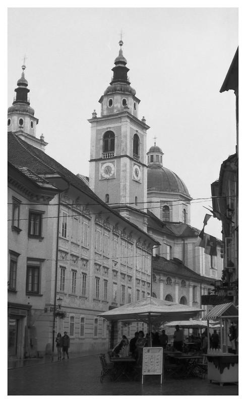 Ljublijana street scene