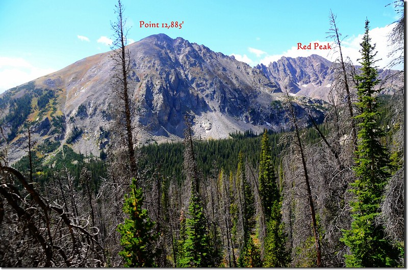 Mountain views from Willow Lakes Trail (9)_副本