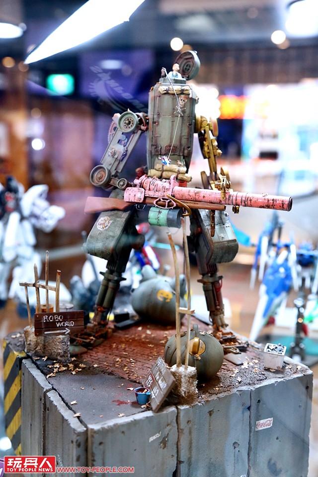 鋼普拉是自由的!創意作品齊聚一堂 『鋼彈模型製作家全球盃 GBWC 2018』現場報導!