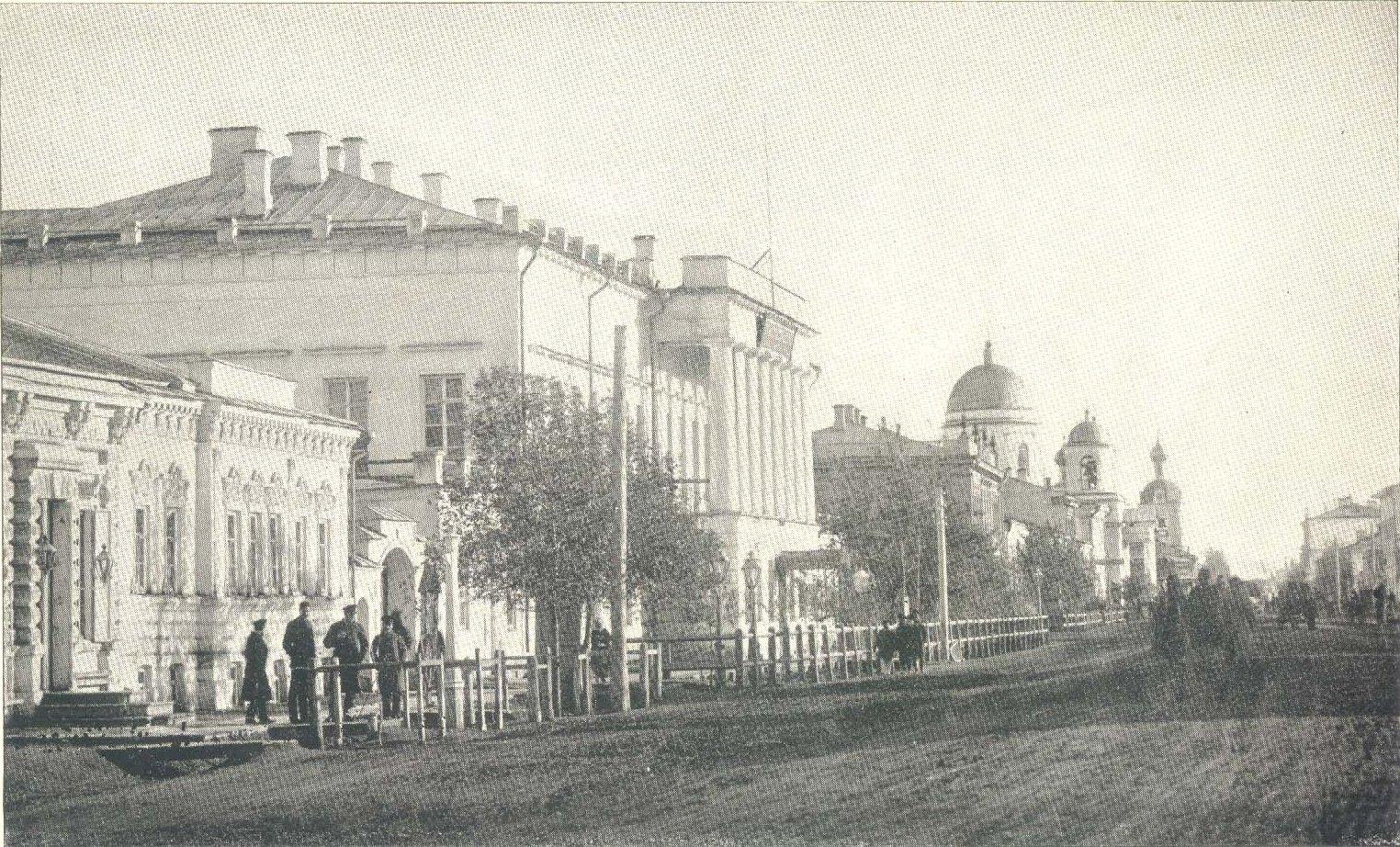 Улица в Уральске.