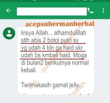 Bukti nyata (testimoni) dari keampuhan obat herbal QnC Jelly Gamat