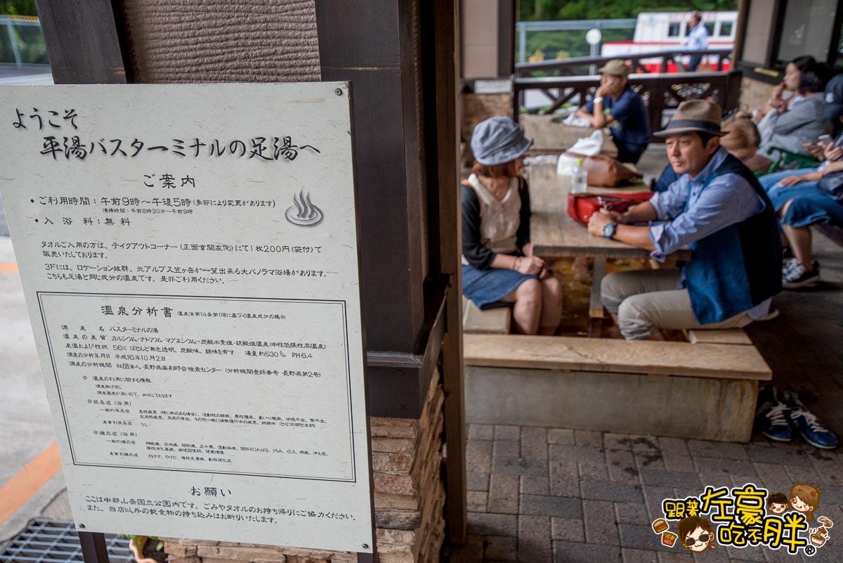 日本名古屋 平湯休息站 -昇龍道票卷-10