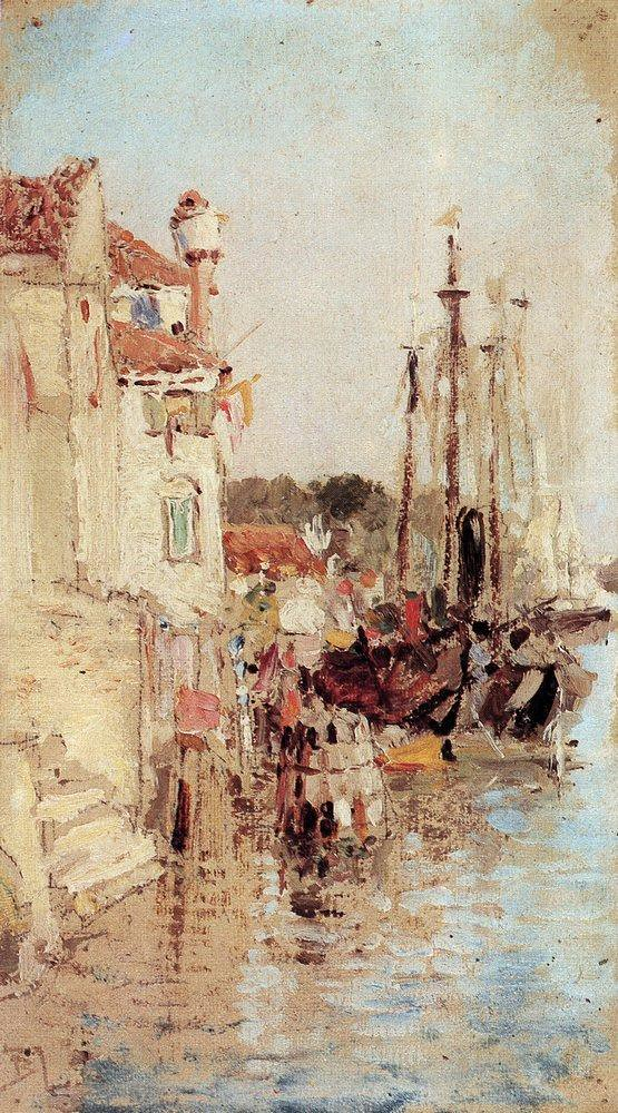 Поленов_Венеция._Каналы 1895