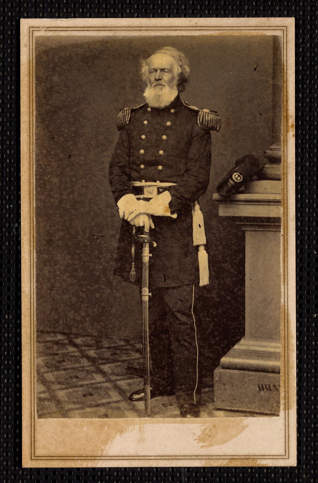 Бригадный генерал Джозеф К. Мансфилд