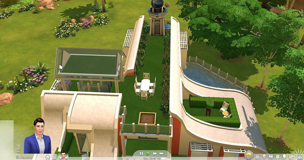 Foto de Nova Atualização do The Sims 4 Console Irá Trazer Telhados de Vidro