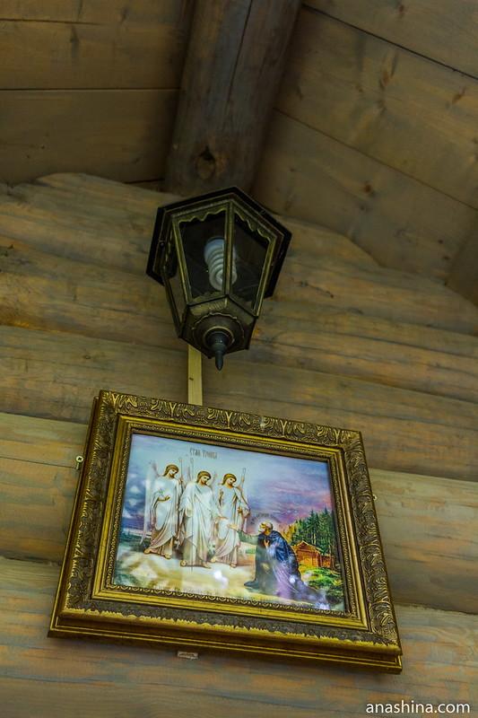 Часовня преподобного Александра Свирского, Северная Фиваида, Карелия, Рауталахти