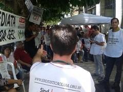 Servidores realizam manifestação - 20/05/2015