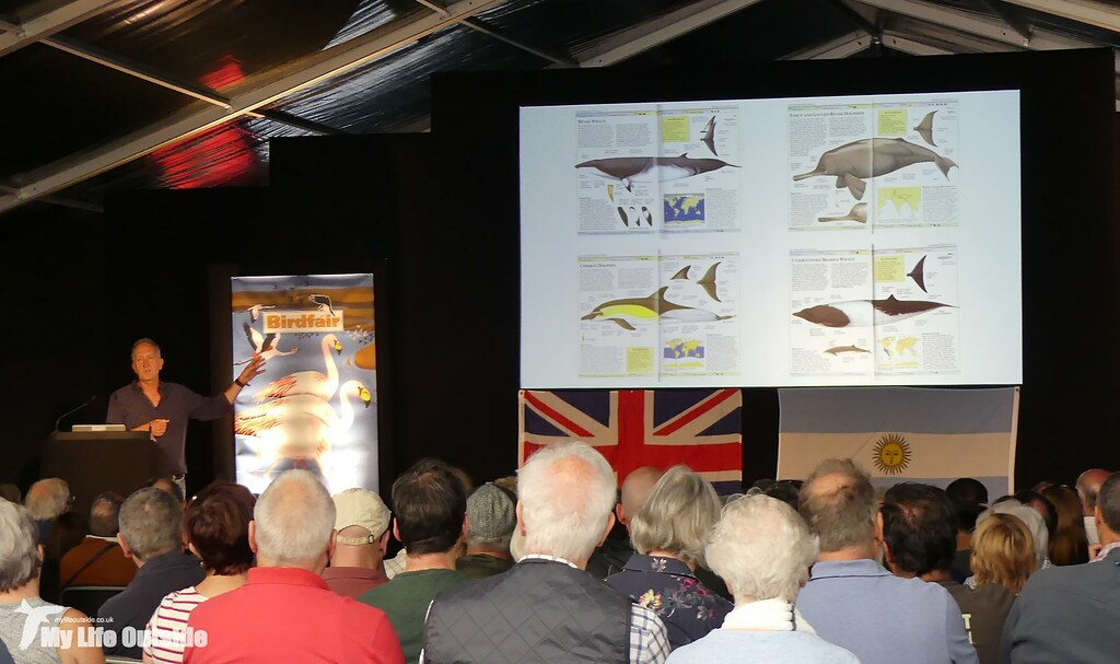 P1170815 - Mark Cawardine, Birdfair