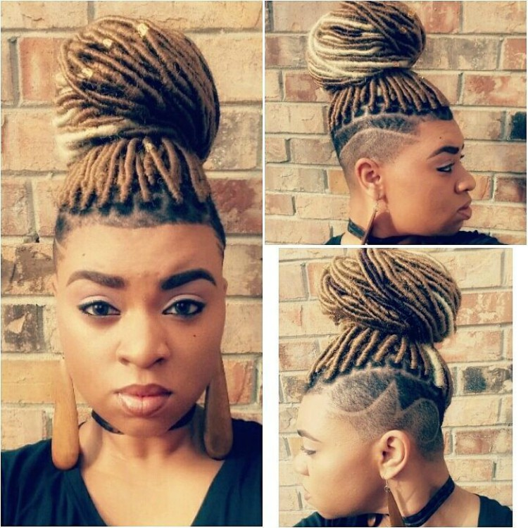 Undercuts with Box Braid, Twist, and Loc Extensions-hottest 2019 3